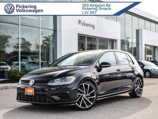 Used 2018 Volkswagen Golf R LOADED!! DRIVERS ASSIST & DSG!! for sale in Pickering, ON