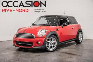 Used 2013 MINI Cooper TOIT.PANO+CUIR+BLUETOOTH for sale in Boisbriand, QC