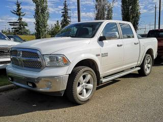 Used 2014 RAM 1500 Laramie 4x4 Crew Cab / Sunroof / Back Up Camera for sale in Edmonton, AB