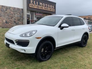 Used 2014 Porsche Cayenne S V8 PLATINUM PKG NAVI PANO ROOF REAR CAM AIR SUSP for sale in North York, ON