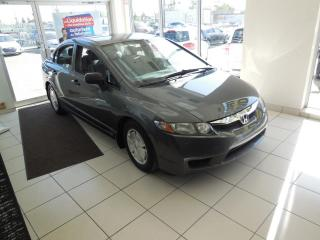 Used 2010 Honda Civic DX-G MANUELLE TRACTION AVANT A/C CRUISE for sale in Dorval, QC