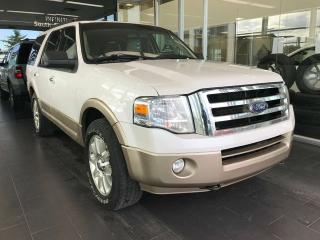 Used 2013 Ford Expedition XLT 4WD, POWER HEATED/VENTED LEATHER SEATS, SUNROOF, BACK-UP CAMERA for sale in Edmonton, AB