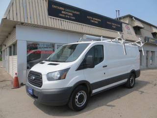 Used 2016 Ford Transit 150 SUPER CLEAN T-150, EASY LOAD LADDER RACK,SHELVES,D for sale in Mississauga, ON
