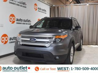 Used 2014 Ford Explorer Xlt, 3.5L V6, 4wd, Third row 7 passenger seating, Navigation, Leather heated seats, Backup camera, Sunroof/Moonroof, Bluetooth for sale in Edmonton, AB