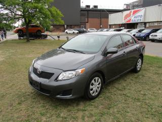 Used 2009 Toyota Corolla CE ~ LOW KM ~ for sale in Toronto, ON