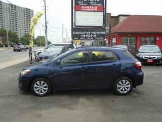 Used 2014 Toyota Matrix ONE OWNER/ NO ACCIDENT / CERTIFIED / MINT/LIKE NEW for sale in Scarborough, ON