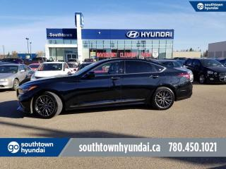 Used 2018 Genesis G80 3.3T AWD/BLIND SPOT /LANE ASSIST for sale in Edmonton, AB