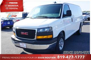 Used 2019 GMC Savana AIR CLIM* CAM RECUL* BAS KILO* for sale in Drummondville, QC