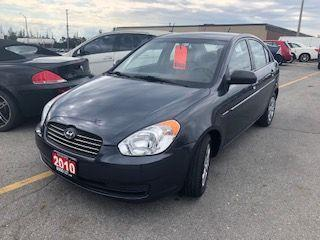 Used 2010 Hyundai Accent 4 DOOR SEDAN for sale in Burlington, ON