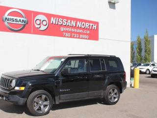 Used 2015 Jeep Patriot High Altitude/4WD/LEATHER/SUNROOF for sale in Edmonton, AB
