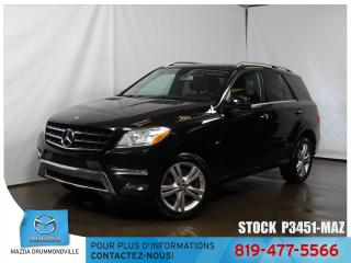 Used 2012 Mercedes-Benz ML-Class |ML 350|4MATIC|DVD|TOITPANO|GPS|BLUETEC| for sale in Drummondville, QC