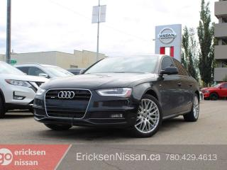 Used 2015 Audi A4 Sline l Quattro l Leather l Roof for sale in Edmonton, AB