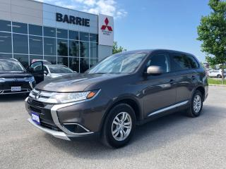 Used 2017 Mitsubishi Outlander ES for sale in Barrie, ON