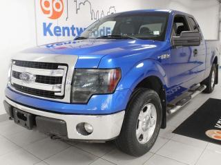 Used 2014 Ford F-150 XLT 4x4 with power drivers seat and keyless entry for sale in Edmonton, AB