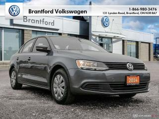Used 2014 Volkswagen Jetta Sedan Trendline plus 2.0 5sp for sale in Brantford, ON