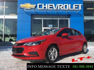 Used 2018 Chevrolet Cruze Hatchback, toit ouvrant, 0% d'interet for sale in Ste-Marie, QC