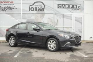 Used 2015 Mazda MAZDA3 GX AVEC A/C**JAMAIS ACCIDENTÉ*** for sale in Québec, QC