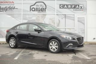 Used 2015 Mazda MAZDA3 GX AVEC A/C**JAMAIS ACCIDENTÉ*** for sale in Québec, QC
