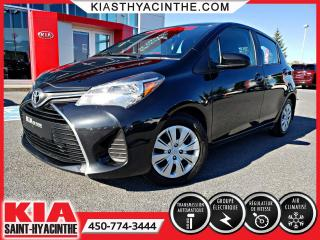 Used 2015 Toyota Yaris LE HB ** GR ÉLECTRIQUE + A/C for sale in St-Hyacinthe, QC