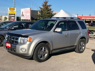 Used 2009 Ford Escape Limited for sale in Barrie, ON