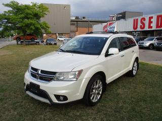 Used 2014 Dodge Journey R/T~7 PASS.~LEATHER~NAV.~DVD~SUNROOF~ for sale in Toronto, ON