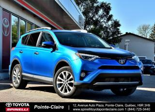 Used 2016 Toyota RAV4 Limited AWD+GPS for sale in Pointe-Claire, QC