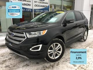 Used 2016 Ford Edge SEL AWD V6 CERTIFIÉ FORD TAUX A PARTIR D for sale in St-Georges, QC