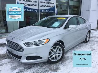 Used 2016 Ford Fusion SE GROSSE ECRAN CERTIFIÉ FORD TAUX 2.9% for sale in St-Georges, QC
