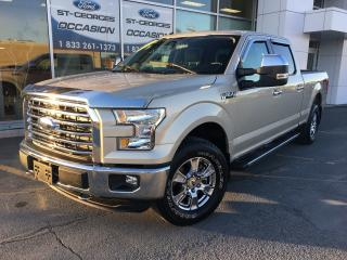 Used 2017 Ford F-150 XLT XTR CREW CAB BTE 6 1/2 V8 5.0L 1 SEUL PROPRIO for sale in St-Georges, QC