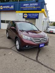 Used 2012 Honda CR-V EX SUNROOF ALLOYS BACKUP CAMERA for sale in Kitchener, ON