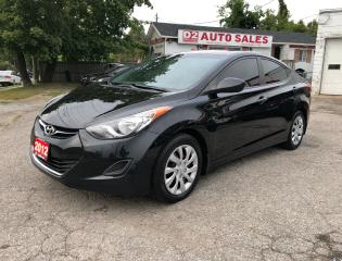 Used 2012 Hyundai Elantra GL/Comes Certified/6Speed Manual/Bluetooth for sale in Scarborough, ON