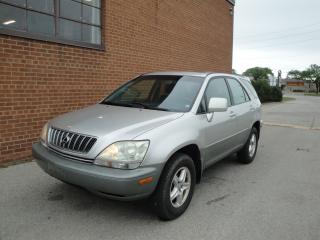 Used 2001 Lexus RX 300 LEATHER /SUNROOF for sale in Oakville, ON