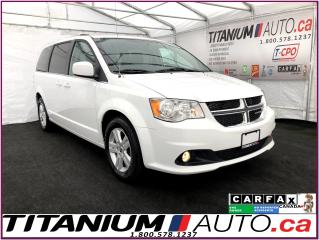 Used 2018 Dodge Grand Caravan Crew Plus+Camera+Leather+Power Doors+Stow N Go+ for sale in London, ON