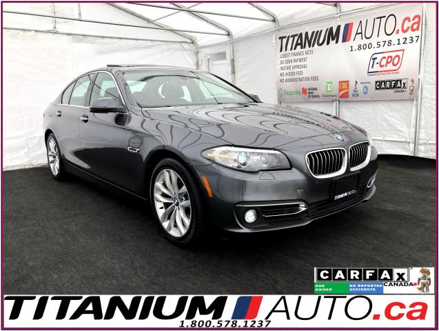 2016 BMW 5 Series xDrive+HUD+360 Camera+GPS+Park Sensors+Soft Close+