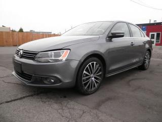 Used 2014 Volkswagen Jetta TDI LATHER for sale in Brampton, ON