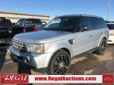 2008 Land Rover Range Rover Sport 4D Utility 4WD