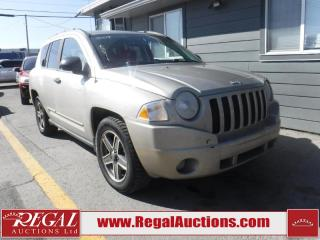 Used 2009 Jeep Compass 4D Utility 4WD for sale in Calgary, AB