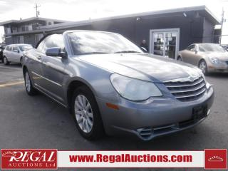 Used 2010 Chrysler Sebring Touring 2D Convertible FWD for sale in Calgary, AB
