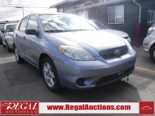Used 2008 Toyota Matrix 4D Hatchback FWD for sale in Calgary, AB