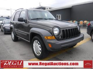 Used 2005 Jeep Liberty Sport 4D Utility 4WD for sale in Calgary, AB