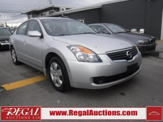 Used 2008 Nissan Altima S 4D Sedan for sale in Calgary, AB
