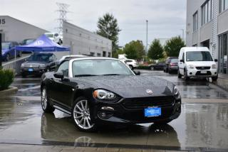 Used 2017 Fiat 124 Spider Classica for sale in Burnaby, BC