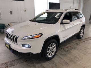 Used 2017 Jeep Cherokee North|4X4|BACKUP CAMERA|BLUETOOTH|74,270 KMS for sale in Cambridge, ON