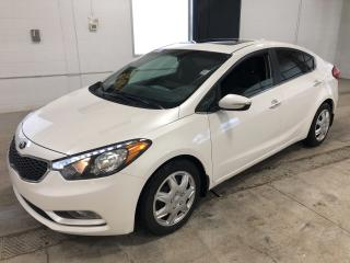Used 2015 Kia Forte EX|BACKUP CAMERA|SUNROOF|BLUETOOTH|30,806 KM for sale in Cambridge, ON