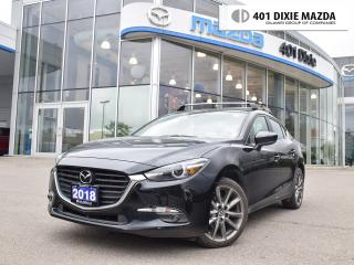 Used 2018 Mazda MAZDA3 GT|ONE OWNER|NO ACCIDENTS|1.99% FINANCE AVAILABLE for sale in Mississauga, ON