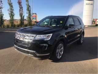 Used 2019 Ford Explorer LIMITED, 2.3 ECOBOOST, MOONROOF, SYNC 3, NAVI for sale in Fort Saskatchewan, AB