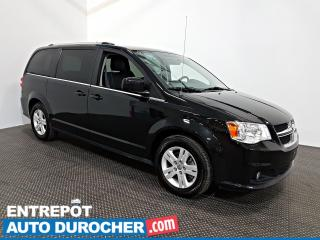 Used 2018 Dodge Grand Caravan Crew Plus Automatique - A/C - Groupe Électrique - for sale in Laval, QC