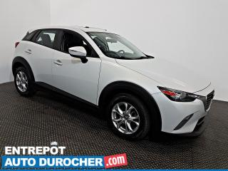 Used 2016 Mazda CX-3 GS TOIT OUVRANT - Automatique - A/C - Cuir for sale in Laval, QC