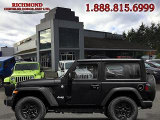 Used 2019 Jeep Wrangler SPORT for sale in Richmond, BC