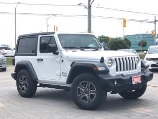 Used 2018 Jeep Wrangler Sport S**Hardtop**Cold Weather GRP** for sale in Mississauga, ON
